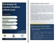 Estrategias de Cambio Climático a Nivel Local en ... - El Financiero