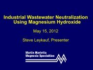 Industrial Wastewater Neutralization Using ... - Ohiowater.org