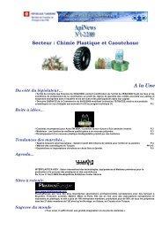Secteur : Chimie Plastique et Caoutchouc A la Une - Tunisie industrie