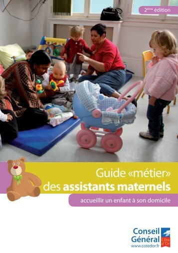 Guide des assistants maternels - Conseil Général de la Côte-d'Or