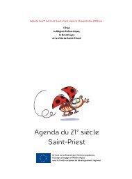 Agenda du 21e siècle Saint-Priest