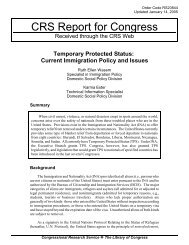 Temporary Protected Status: Current Immigration Policy ... - PARDS