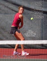W. Tennis - Rhode Island College Athletics