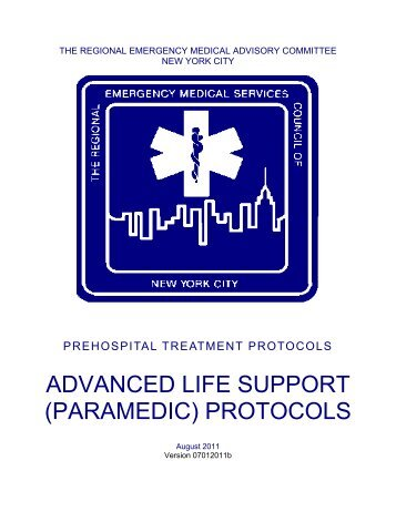 ALS Protocols - The Regional Emergency Medical Services Council ...