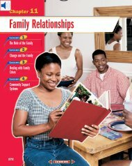 Chapter 11: Family Relationships
