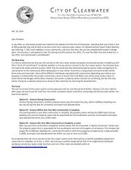 Information Packet Mailed to Residents, February 2013 - City Home