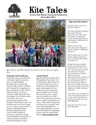 Kite Tales - Cary Park District