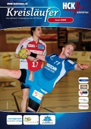 Juni 2008 - HC Kriens-Luzern