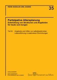 Teilbericht III (PDF 5.5 MB) - Frankfurt am Main