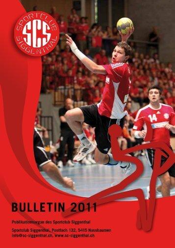 BUlletiN 2011 - SC Siggenthal