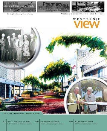 university advancement 2004 highlights - Western University of ...