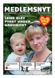Leise blev fyret under graviditet - Det Faglige Hus