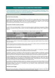 Gestion et valorisation forestières - Le Conseil Général de la ...