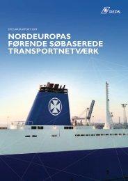 nordeuropas førende søbaserede transportnetværk - DFDS