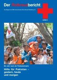 Der Rotkreuzbericht 4/2011 - Deutsches Rotes Kreuz | Kreisverband ...