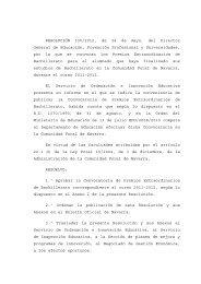 BON Res Premios Bachillerato 2012 - Departamento de Educación ...