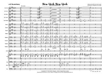 New York New York (Theme from) published score - Lush Life Music