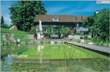 Erholsamer Feriengarten - Grünplan GmbH