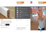HOCOclip HOCOfinish Flyer - HocoHolz