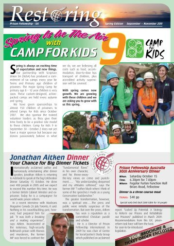 CAMP FOR KIDS CAMP FOR KIDS - Prison Fellowship Australia