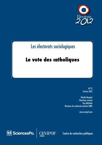 Le vote des catholiques - cevipof
