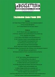 Calendario Gran Fondo 2010 - La Bicicletteria, Acqui Terme