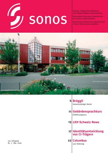 LKH Schweiz News Identitätsentwicklung von CI-Trägern ... - Sonos