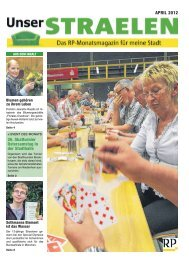 APRIL 2012 26. Skatturnier Ostersamstag in der ... - RP Online