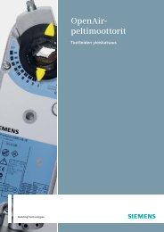 OpenAir- peltimoottorit - Siemens