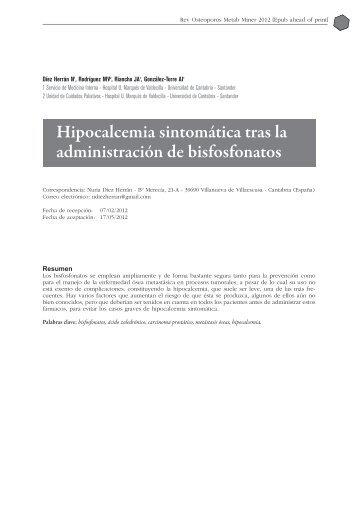 Hipocalcemia sintoma tica NC e-pub junio 2012_MaquetaciÛn 1