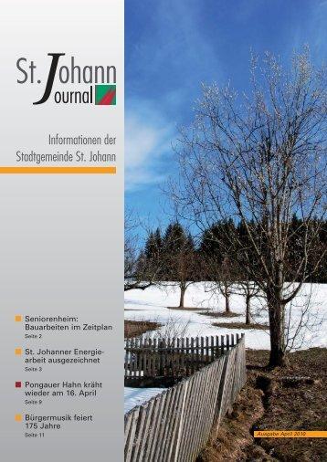 Aktuell - St. Johann im Pongau