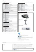 VPL-BW7 Datasheet.indd - Videoprojektor.hu | projektor, vetítővászon - Page 2