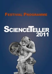 ScienceTeller 2011 print programme