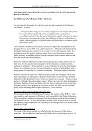 The Implemenation of Political Goals in Practice ... - tuning project