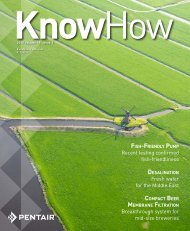 KnowHow 1-2012 - Pentair