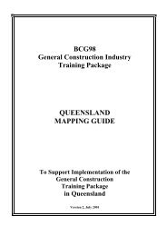 BCG98 General Construction Transition Guide - Training ...