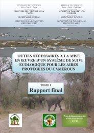 Rapport final suivi ecologique - Impact monitoring of Forest ...