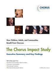 The Chorus Impact Study - Milwaukee Children's Choir