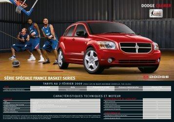 dodge caliber série spéciale france basket series - Groupe Aubin
