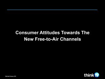 Consumer Research - Think TV