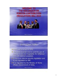 Foreign Contribution Regulation Act, 1976