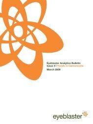 Eyeblaster Analytics Bulletin Issue 3 | Trends in ... - MediaMind