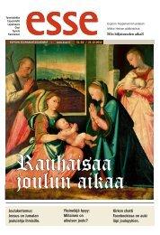 Esse 51-52/2011 pdf - Espoon seurakuntasanomat