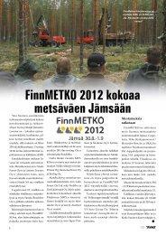 FinnMETKO 2012 messuennakko - Metsätrans