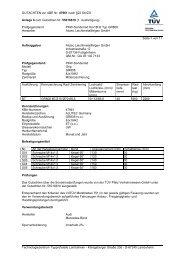 GUTACHTEN zur ABE Nr. 47961 nach §22 StVZO Anlage 6 zum ...