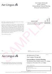 Aer Lingus Group plc