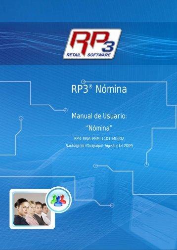 Nómina - RP3 Retail Software