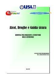 Alcol, Droghe e Guida sicura - Cedostar