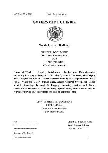 Iss latest - North Eastern Railway - Indian Railway