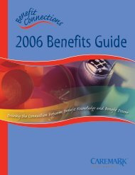 2006 Benefits Guide - Caremark